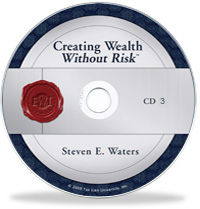 Creating Wealth Without Risk  Image of cwwr audio three